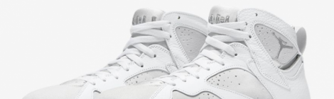 AIR JORDAN 7 RETRO « PURE PLATINUM »